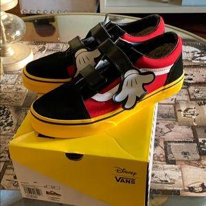 Mickey Vans (fits women 6.5)
